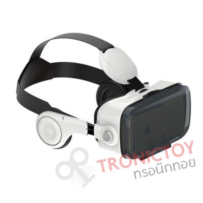 แว่นตาเสมือน พร้อมหูฟัง Built in ในตัว รุ่น Z4 VR Virtual Reality 3D Glasses Private Thearter