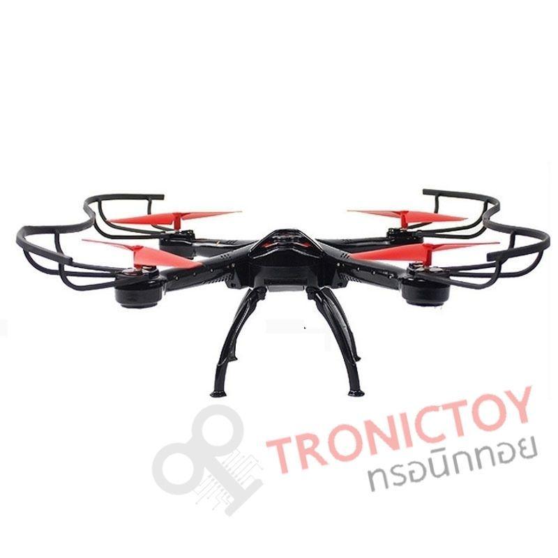 โดรน 4 ใบพัด พร้อมกล้องถ่ายภาพมุมสูง 2.4 GHz X Spider 4 Axis Air craft Quadcopter Drone with Camera