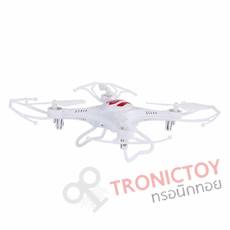 โดรน 4 ใบพัด 6 แกนไจโรไร้สายบังคับวิทยุ รุ่น LH-X13S 2.4 GHz RC Helicopter Drone with 6 Axis Gyro Quadcopter