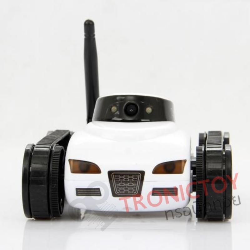 รถถังบังคับสอดแนมควบคุมผ่านสมาร์ทโฟน Mini I-Spy Tank control via Smart Phone compatible with iOS and Android