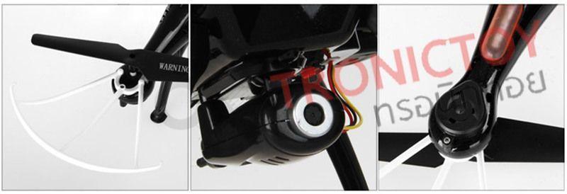 Syma 5XSW FPV Drone Black White