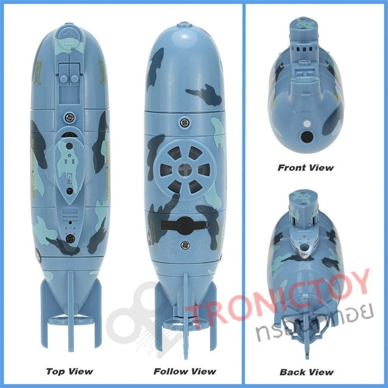 ZT 40MHZ 3CH RC RACING SUBMARINE TOURISM WITH WATER RESISTANCE REMOTE CONTROL