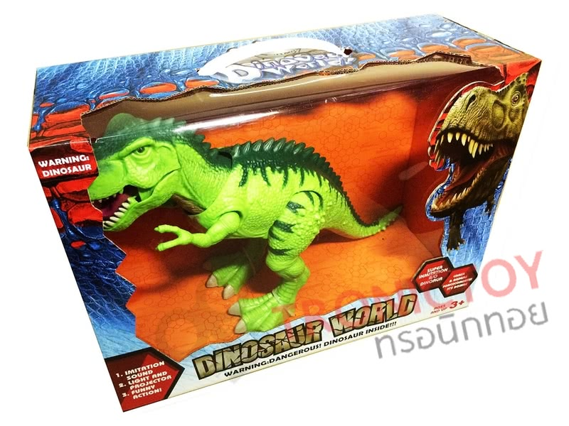 DINOSAUR WORLD SUPER-SIZED & REALISTIC DINOSAUR ROBOT TOY