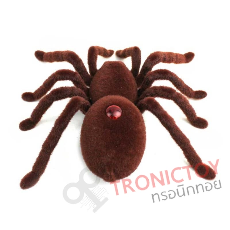 INFRARED REMOTE CONTROL TARANTULA SPIDER WITH LIGHT TRICK ROBOT TOY (BROWN) หุ่นยนต์แมงมุม ราคาถูก