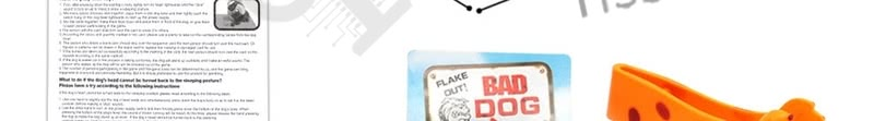 FLAKE OUT BAD DOG BONES CARDS TRICKY TOY GAMES