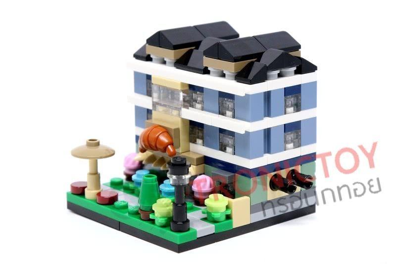 ชุดตัวต่อ เลโก้ ของเล่น DECOOL CITY MINI STREET VIEW BRICKS TOYS LEGO ราคาถูก