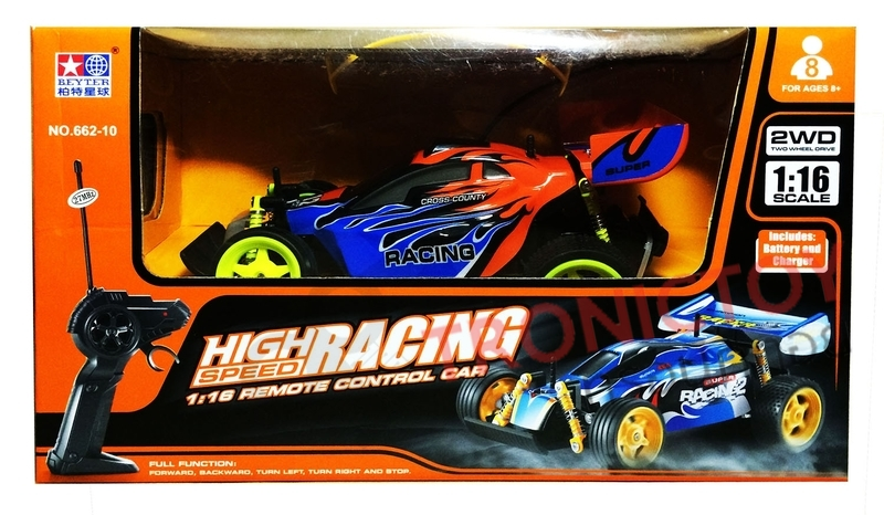 HIGH SPEED RACING REMOTE CONTROL CAR 2WD