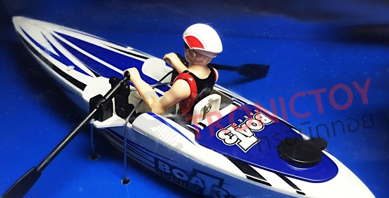 ZT 2.4 GHZ RC CANOEING DRIFTING BOAT