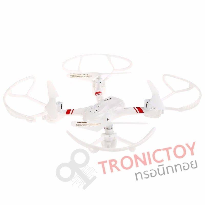 โดรนบังคับวิทยุ 4 ใบพัด สุดยอดอัจฉริยะอากาศยาน พร้อมฟังก์ชัน ปุ่มเดียวบินกลับที่เดิม 2.4 GHz 4 Channel Super-F Intelligent unmanned aerial vehicle quadcopter drone One Key Return