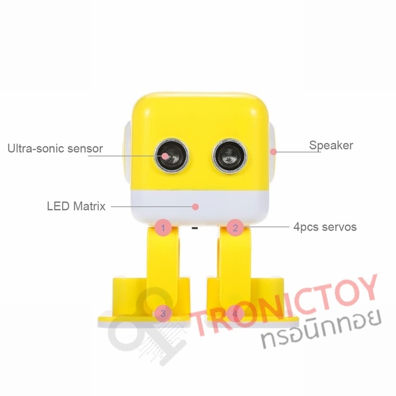 WLtoys cubee F9 Multifunctional Music Entertainment Robot Toy