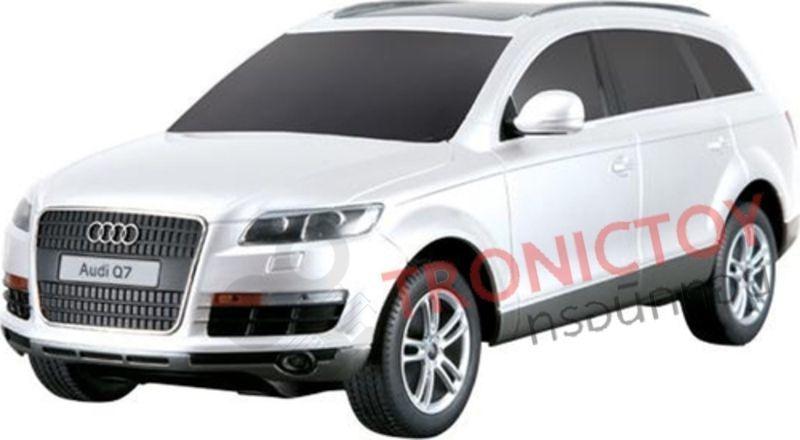 รถโมเดลออดี้บังคับวิทยุ Realistic RC Audi Q7 Scale 124 Model Car